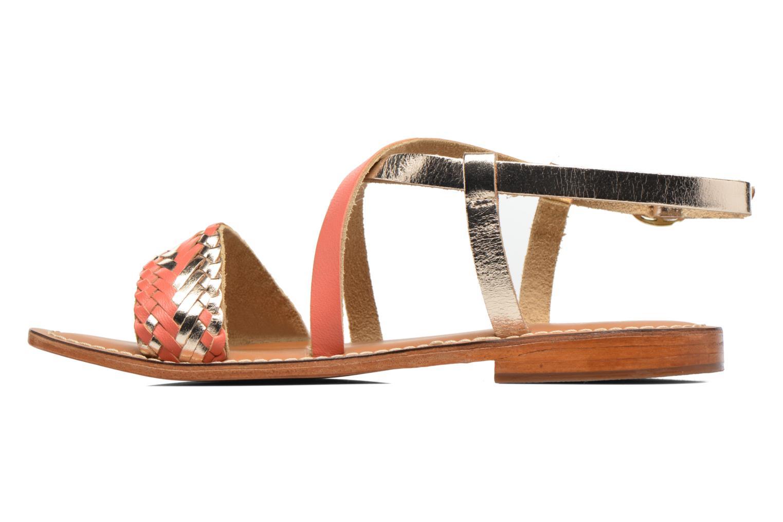 Sandales et nu-pieds L'Atelier Tropézien Suzanne Multicolore vue face