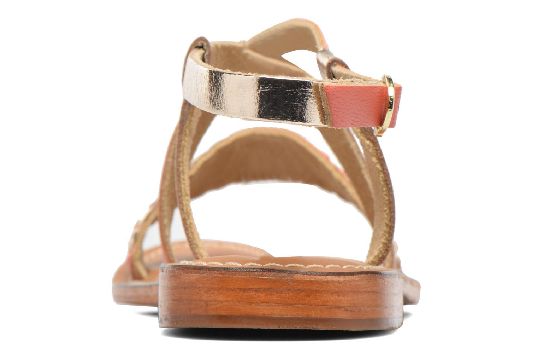 Sandales et nu-pieds L'Atelier Tropézien Suzanne Multicolore vue droite