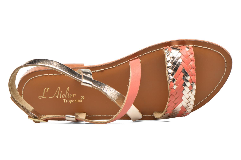 Sandales et nu-pieds L'Atelier Tropézien Suzanne Multicolore vue gauche