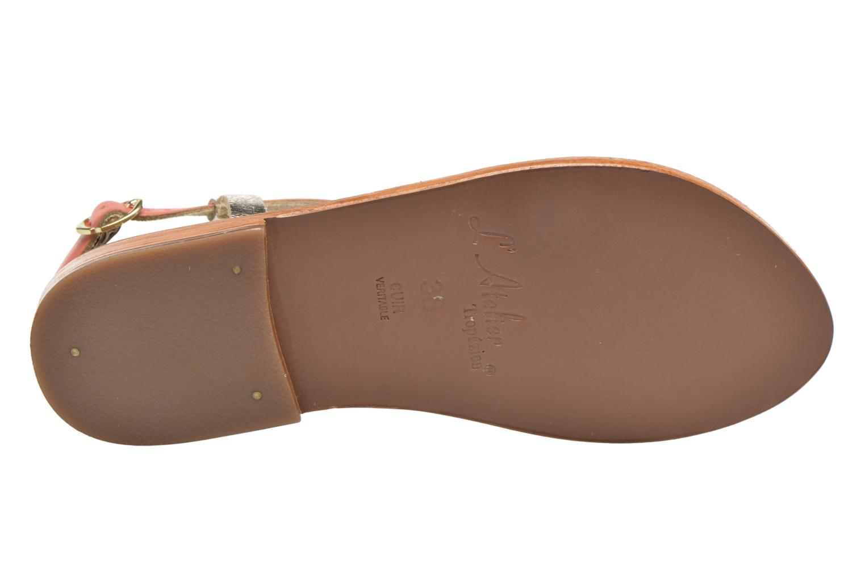 Sandales et nu-pieds L'Atelier Tropézien Suzanne Multicolore vue haut