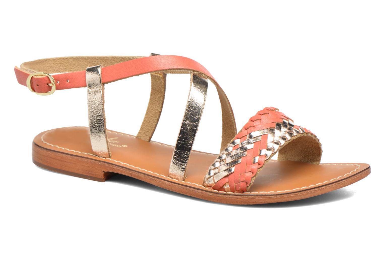 Sandales et nu-pieds L'Atelier Tropézien Suzanne Multicolore vue détail/paire