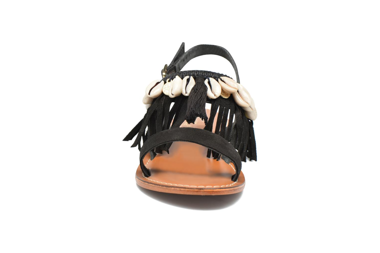 Sandali e scarpe aperte L'Atelier Tropézien Shoshana Nero modello indossato