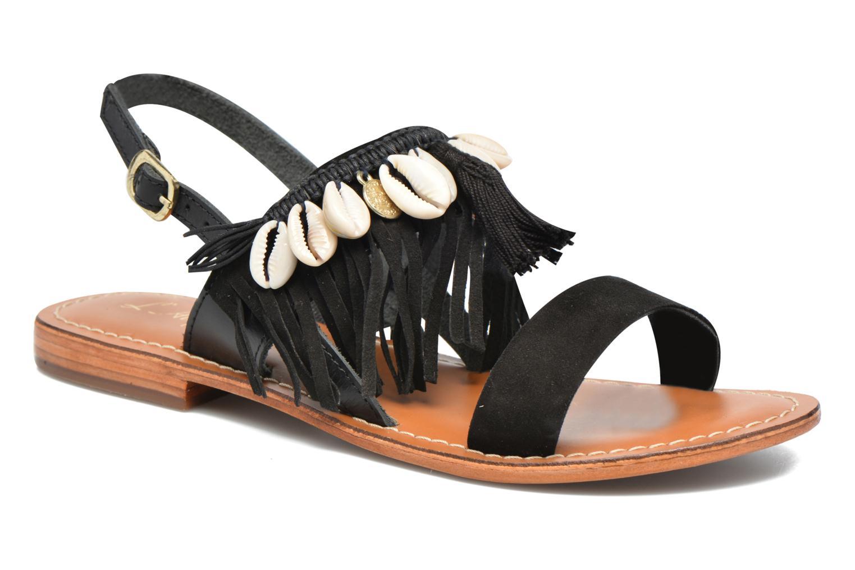 Los últimos zapatos de hombre y mujer L'Atelier Tropézien Shoshana (Negro) - Sandalias en Más cómodo