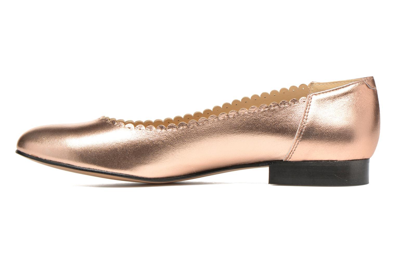 Ballerinas Georgia Rose Sanfeston gold/bronze ansicht von vorne