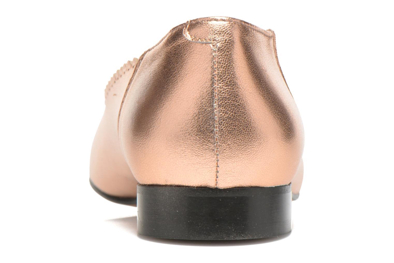 Ballerinas Georgia Rose Sanfeston gold/bronze ansicht von rechts