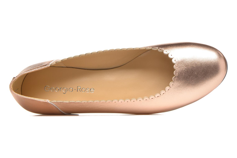 Ballerinas Georgia Rose Sanfeston gold/bronze ansicht von links