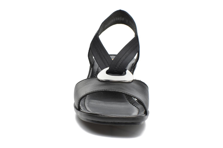 Sandales et nu-pieds Rieker Eline 62662 Noir vue portées chaussures