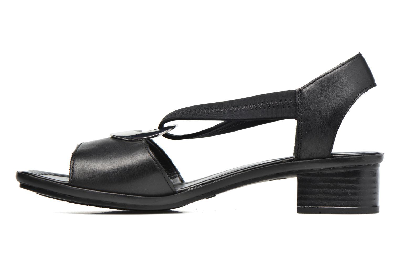 Sandales et nu-pieds Rieker Eline 62662 Noir vue face