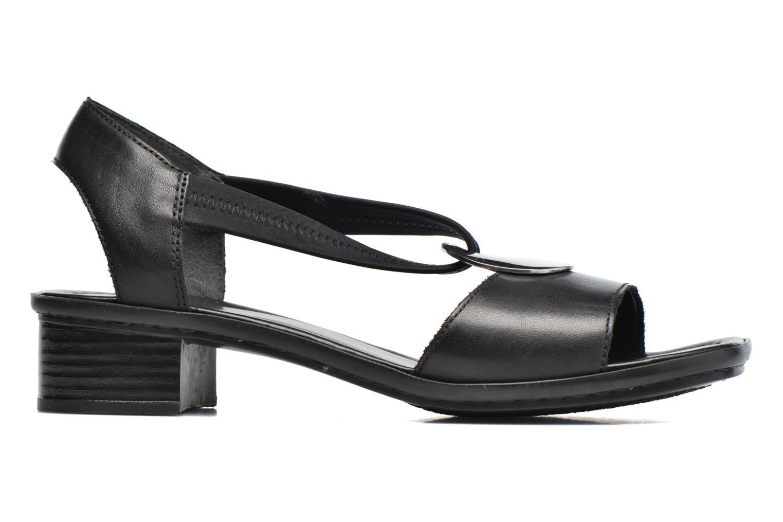 Sandales et nu-pieds Rieker Eline 62662 Noir vue derrière