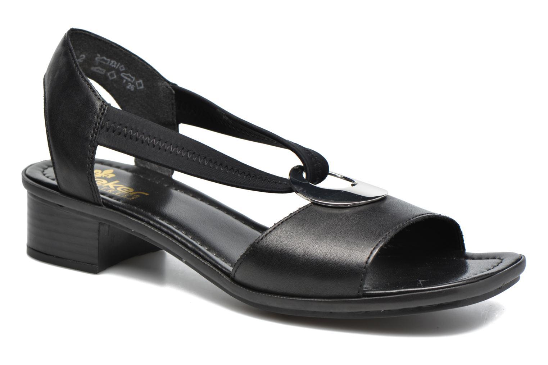 Sandales et nu-pieds Rieker Eline 62662 Noir vue détail/paire