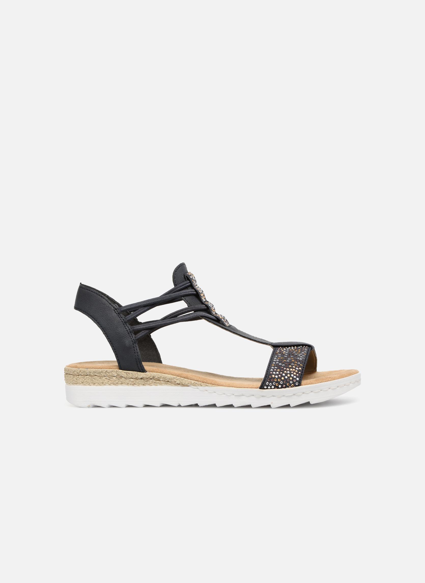 Sandales et nu-pieds Rieker Inge 63062 Bleu vue derrière