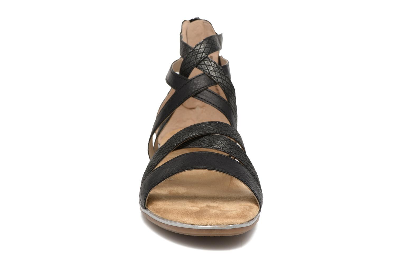 Sandales et nu-pieds Rieker Roos K0855 Noir vue portées chaussures