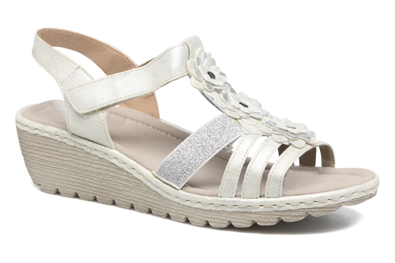 Sandales et nu-pieds Rieker Taco K3762 Blanc vue détail/paire