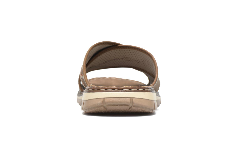 Sandales et nu-pieds Rieker Arjen 25168 Marron vue droite
