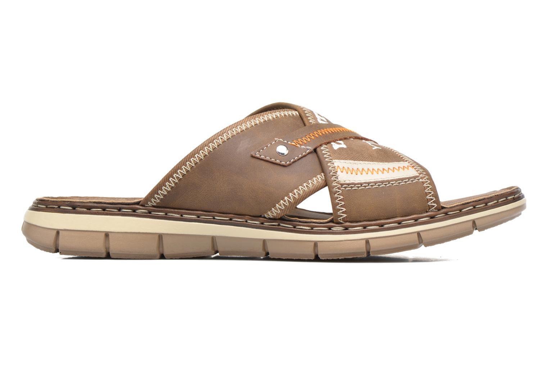 Sandales et nu-pieds Rieker Arjen 25168 Marron vue derrière