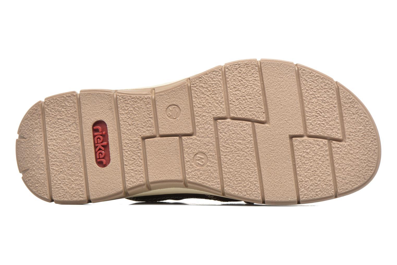 Sandales et nu-pieds Rieker Arjen 25168 Marron vue haut