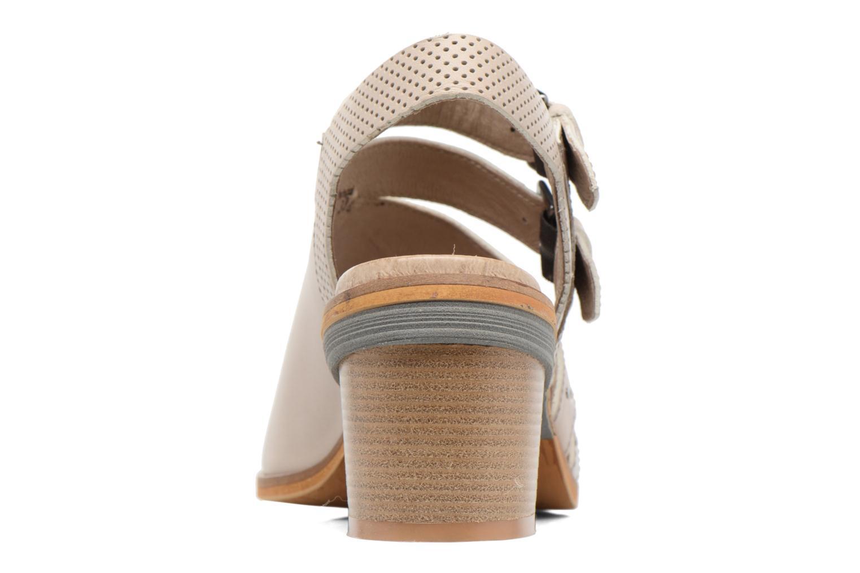 Sandales et nu-pieds Dkode Genna Beige vue droite