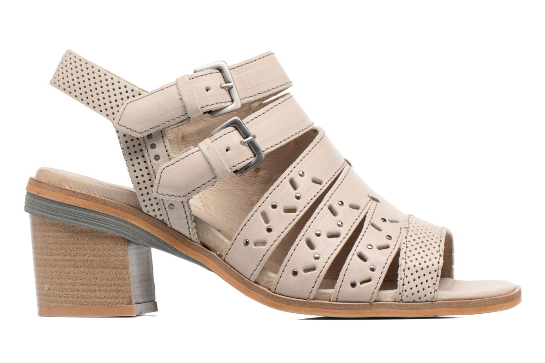 Sandales et nu-pieds Dkode Genna Beige vue derrière