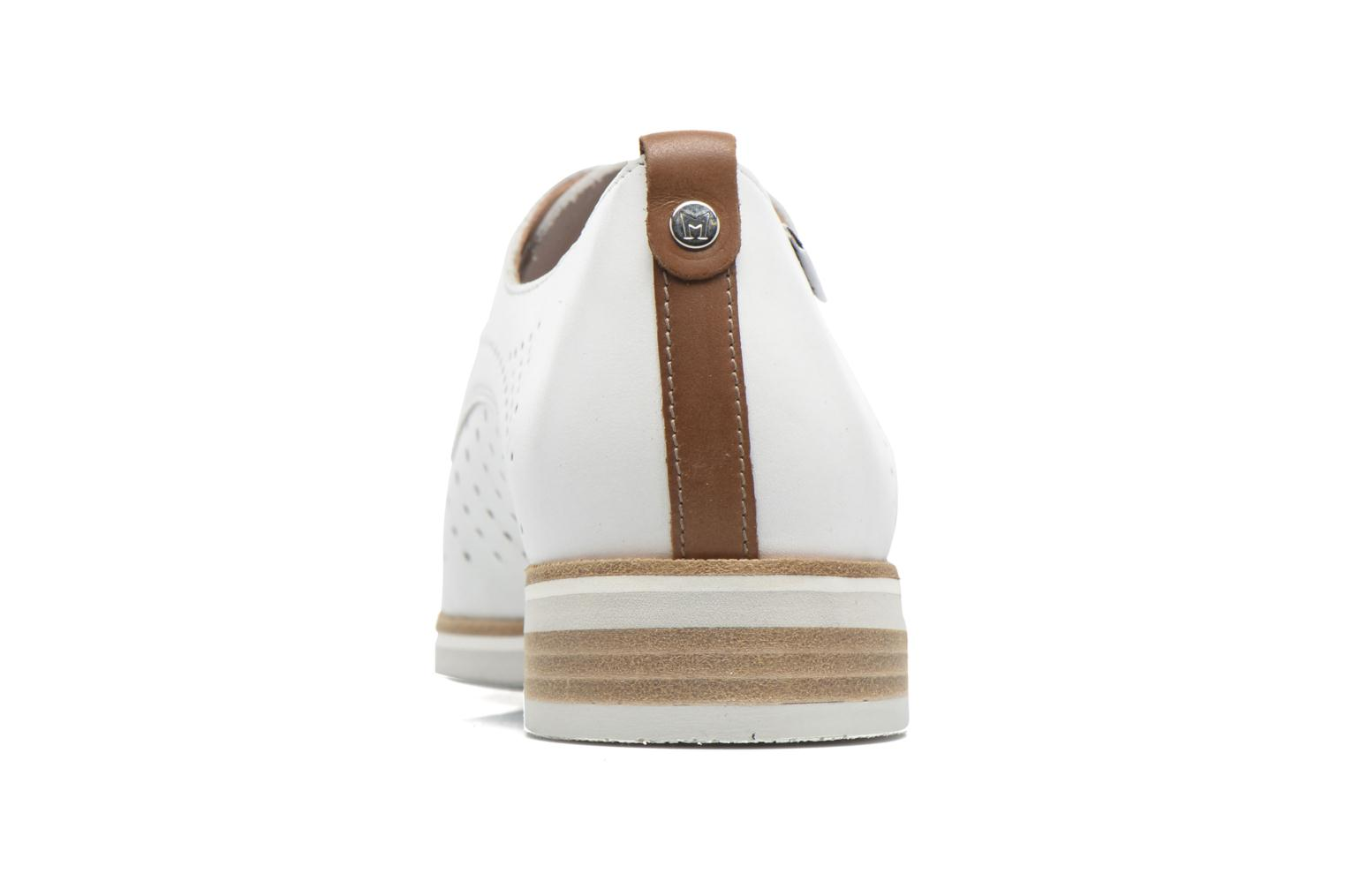Chaussures à lacets Mephisto Pearl perf Blanc vue droite