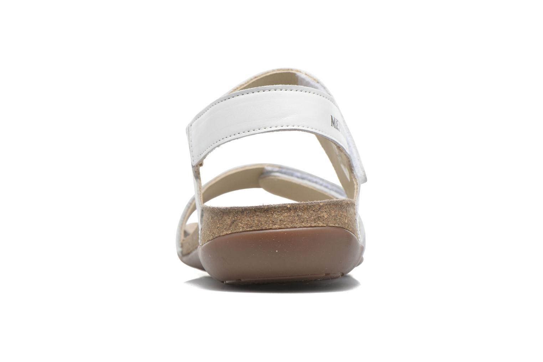 Sandales et nu-pieds Mephisto Agave Blanc vue droite