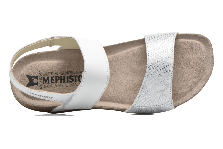Sandales et nu-pieds Mephisto Agave Blanc vue gauche