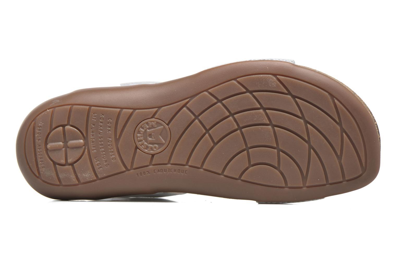 Sandales et nu-pieds Mephisto Agave Blanc vue haut