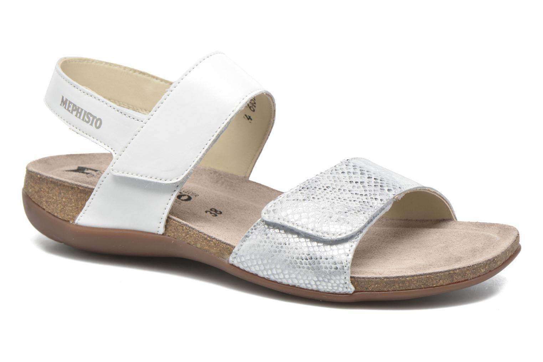 Sandales et nu-pieds Mephisto Agave Blanc vue détail/paire