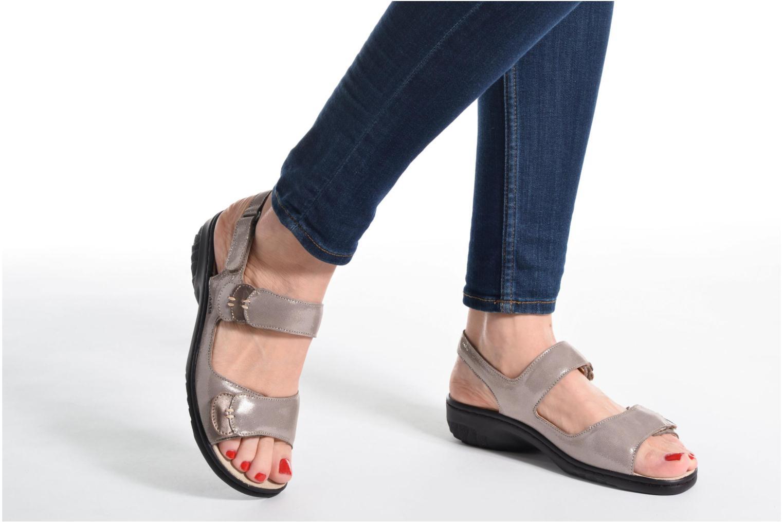 Sandales et nu-pieds Mephisto Getha Beige vue bas / vue portée sac