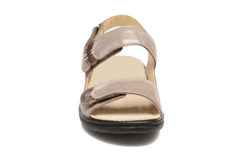 Sandales et nu-pieds Mephisto Getha Beige vue portées chaussures