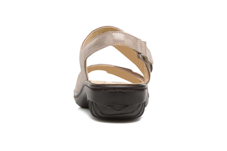 Sandales et nu-pieds Mephisto Getha Beige vue droite