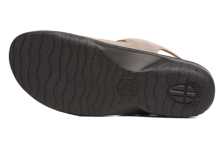 Sandales et nu-pieds Mephisto Getha Beige vue haut
