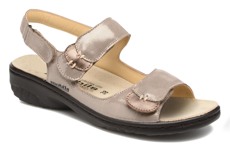 Sandales et nu-pieds Mephisto Getha Beige vue détail/paire