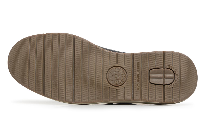 Scarpe con lacci Mephisto Justin Azzurro immagine dall'alto