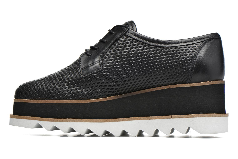 Chaussures à lacets Bronx Bemmax Noir vue face