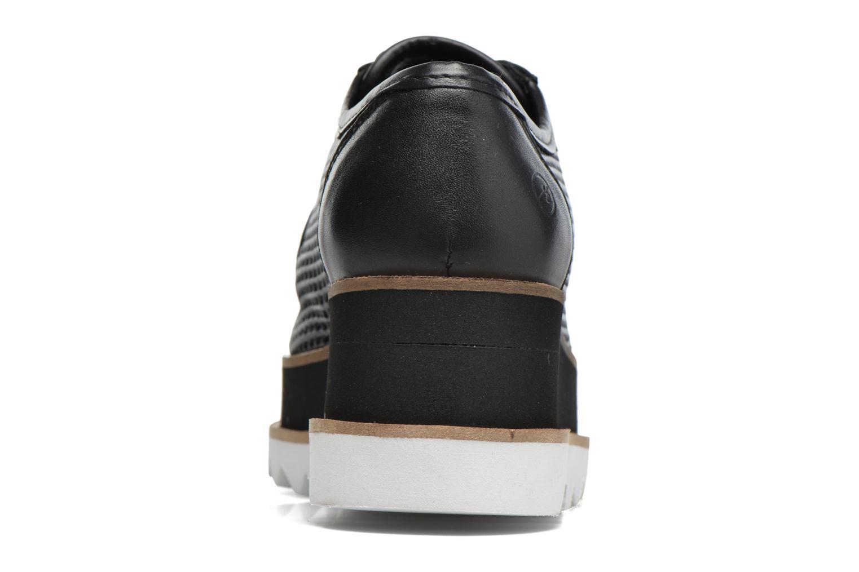 Zapatos con cordones Bronx Bemmax Negro vista lateral derecha