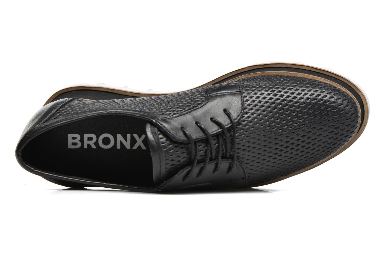 Veterschoenen Bronx Bemmax Zwart links