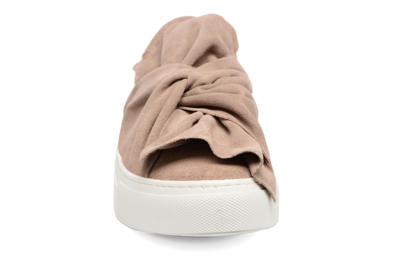 Baskets Bronx Byardenx 2 Beige vue portées chaussures