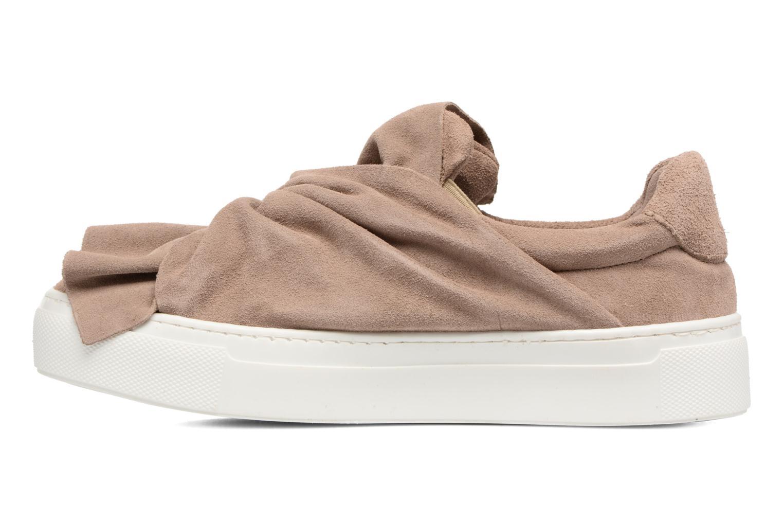 Sneaker Bronx Byardenx 2 beige ansicht von vorne