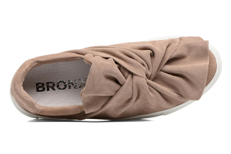 Sneakers Bronx Byardenx 2 Beige immagine sinistra