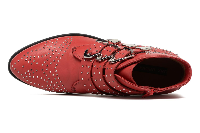 Bottines et boots Bronx Brezax Rouge vue gauche