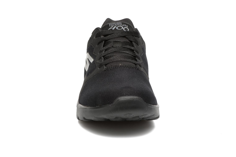 Sportschuhe Skechers GO Run 400 F schwarz schuhe getragen