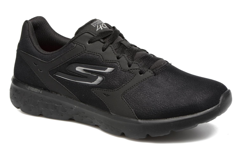 Sportschuhe Skechers GO Run 400 F schwarz detaillierte ansicht/modell