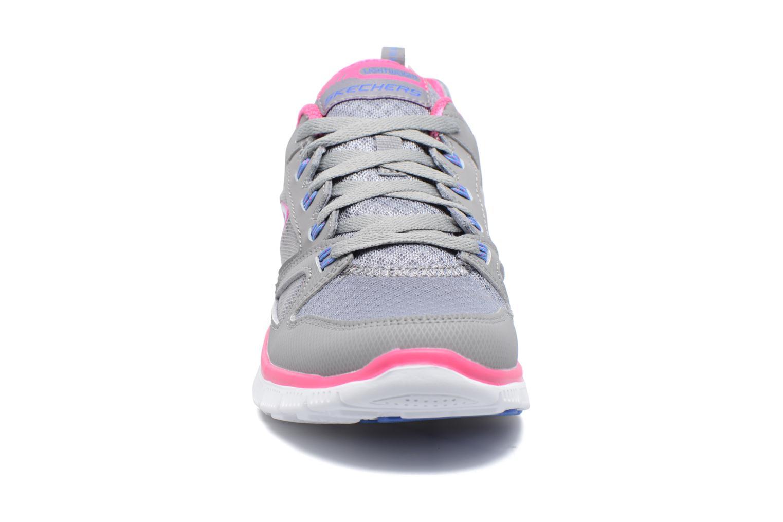 Scarpe sportive Skechers Flex Appeal Adaptable Grigio modello indossato