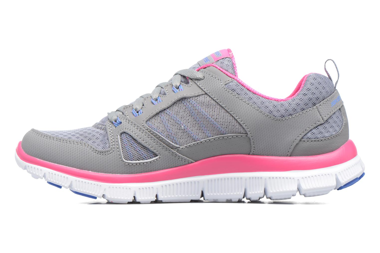Chaussures de sport Skechers Flex Appeal Adaptable Gris vue face