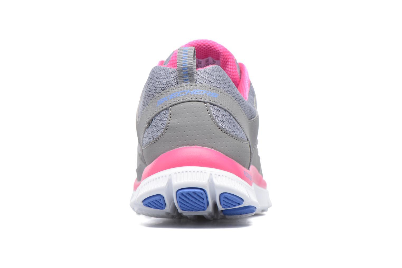 Scarpe sportive Skechers Flex Appeal Adaptable Grigio immagine destra