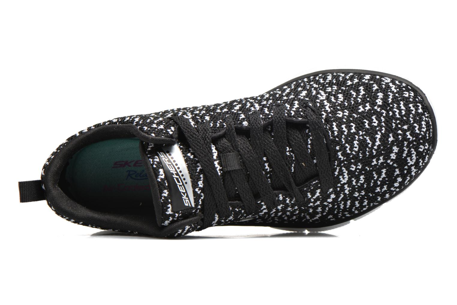Sport shoes Skechers Empire Connections Black view from the left
