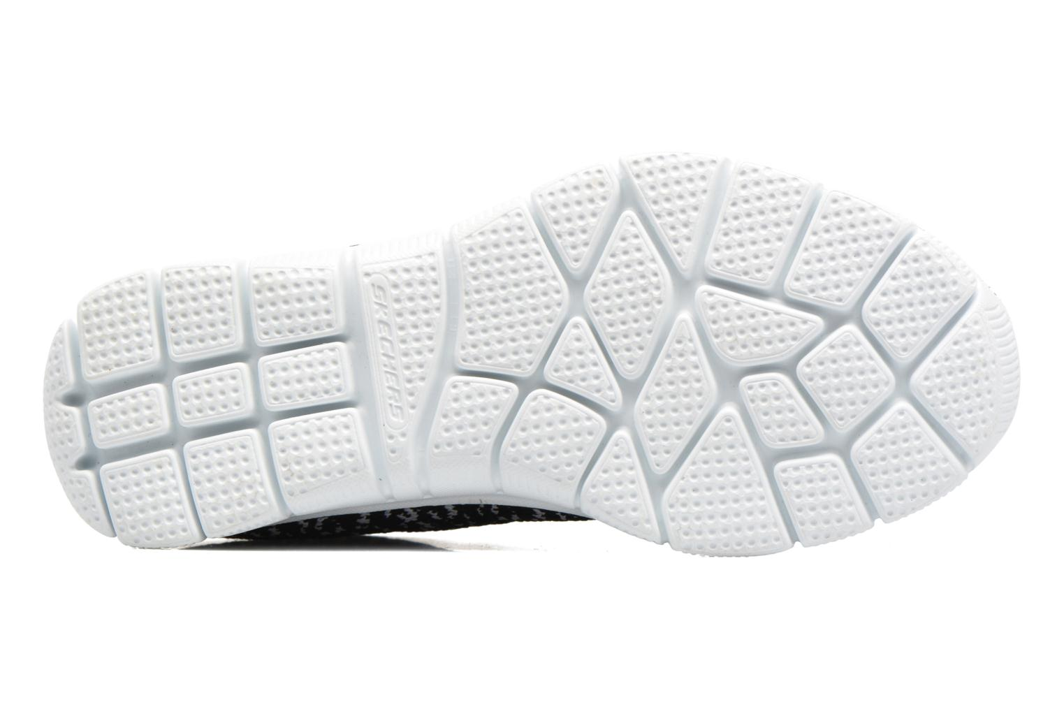Sport shoes Skechers Empire Connections Black view from above