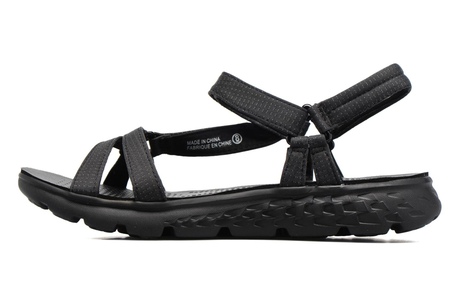 Sandalias Skechers on-the-GO 400 W Negro vista de frente