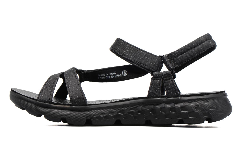 Sandaler Skechers on-the-GO 400 W Svart bild från framsidan