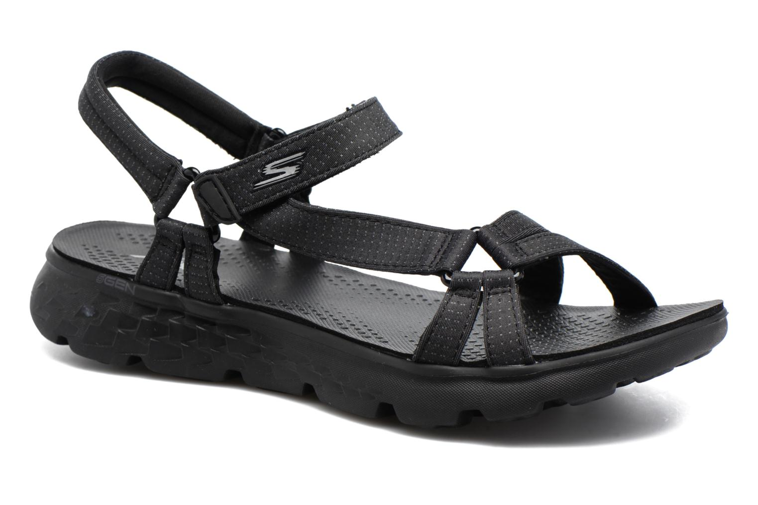 Sandalias Skechers on-the-GO 400 W Negro vista de detalle / par